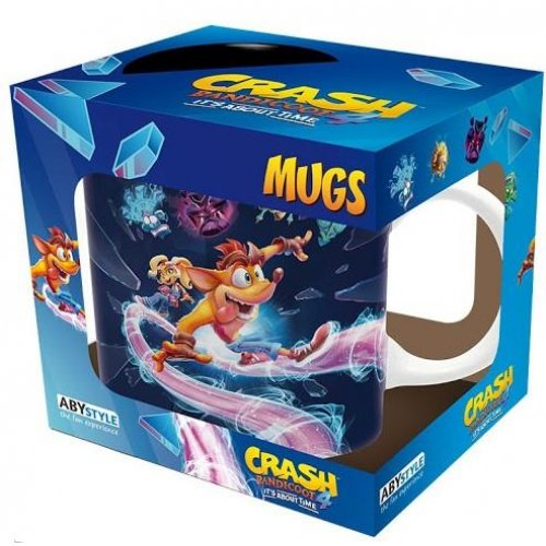 Abysse Crash Bandicoot It's About Time 320ml Mug (ABYMUG856)