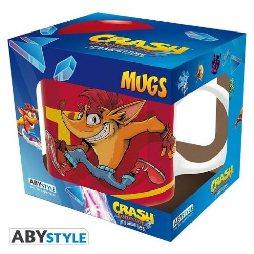 Abysse Crash Bandicoot - Crash TNT 320ml Mug (ABYMUG857)