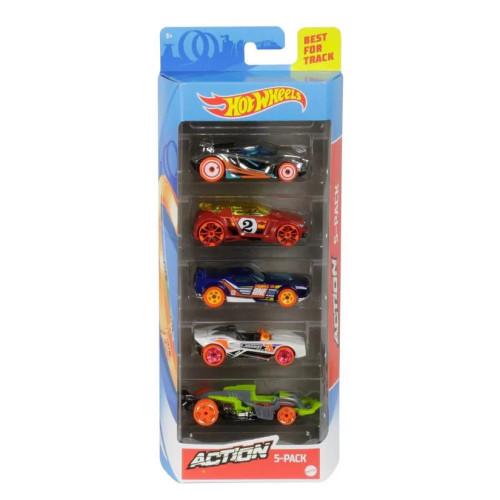 Mattel Hot Wheels - Action (Set Of 5) (GHP64)
