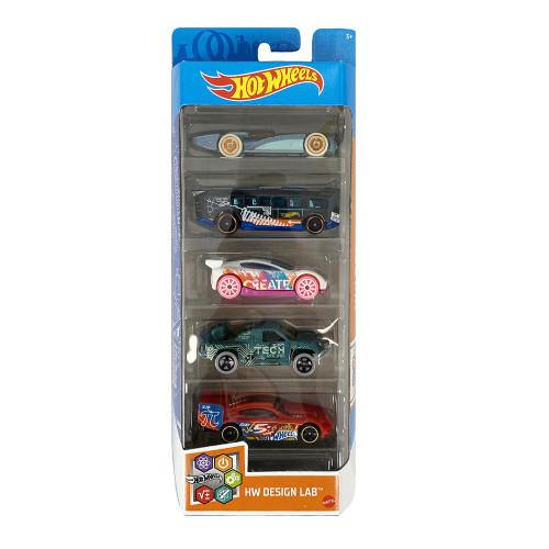 Mattel Hot Wheels - HW Design Lab (Set Of 5) (GTN34)