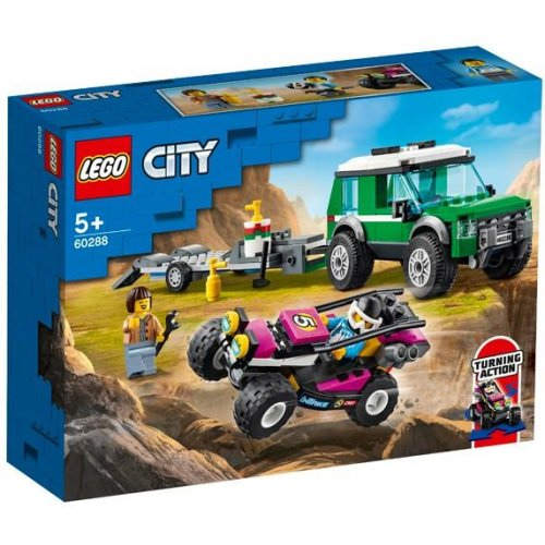 LEGO® City Great Vehicles: Race Buggy Transporter (60288)