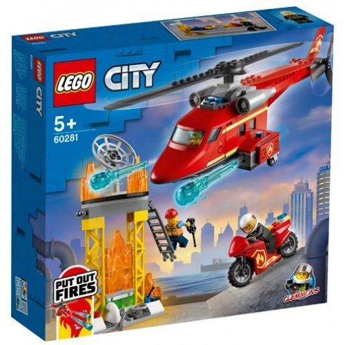LEGO® City Fire: Fire Rescue Helicopter (60281)