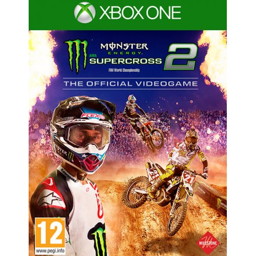 XBOX1 / XSX Monster Energy Supercross: The Official Videogame 4 (EU)