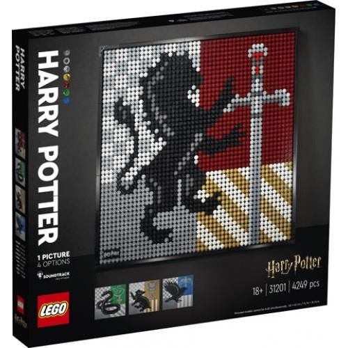 LEGO® Art: Harry Potter™ Hogwarts™ Crests (31201)