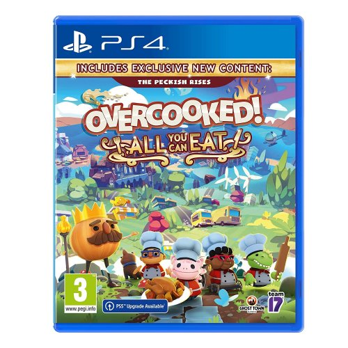 PS4 Overcooked: All You Can Eat