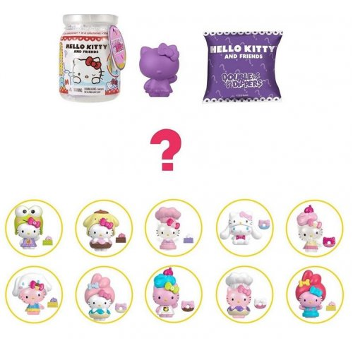 Mattel Hello Kitty and Friends: Double Dippers Serie 1 (Random) (GTY62)