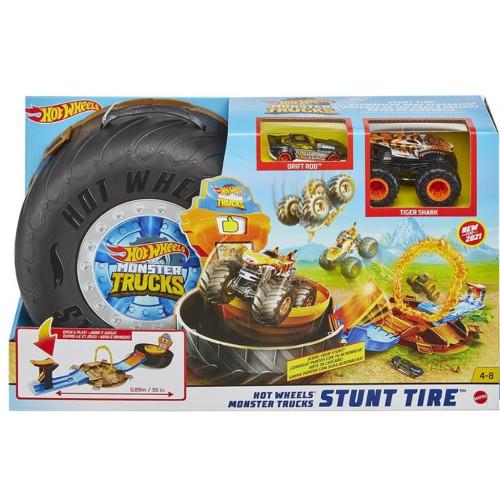Mattel Hot Wheels: Hw Mt Stunt Tire Ps (GVK48)