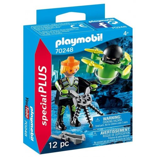 Playmobil® Agent With Drone (70248)