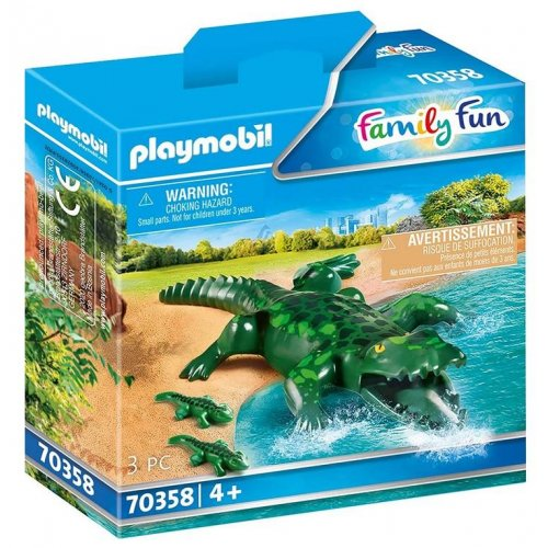 Playmobil® Alligator With Babies (70358)