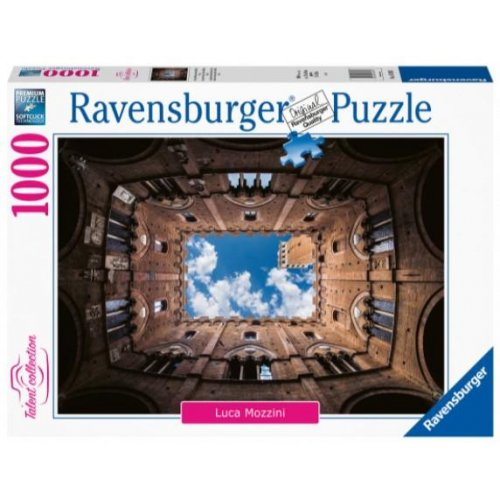 Ravensburger Puzzle: Courtyard at Palazzo Pubblico, Siena (1000pcs) (16780)