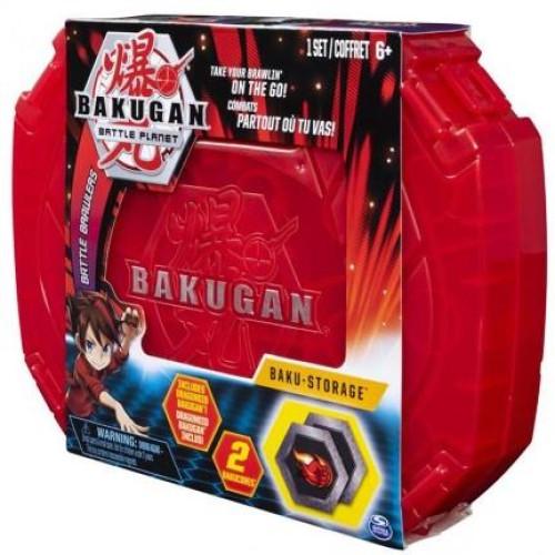 Spin Master Bakugan Battle Planet: Battle Brawlers - Red Baku Storage (20115348)
