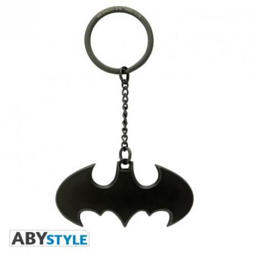 Abysse DC Batman: Batarang Metal 3D Keychain (ABYKEY304)