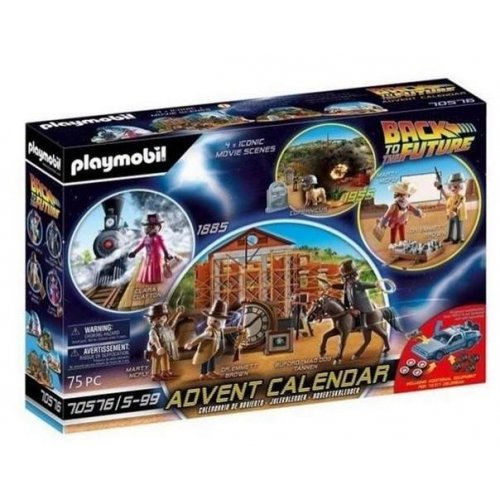 Playmobil® Advent Calendar - Back To The Future Part III (70576)