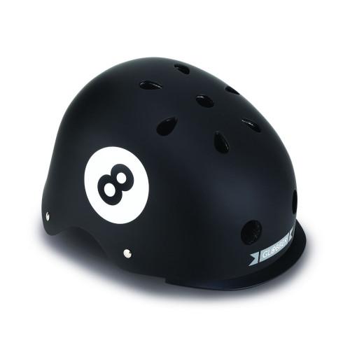 Globber Helmet Elite Με Αναλάμπον LED XS/S ( 48-53CM ) BLACK 8 BALL