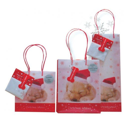 Next πολυπροπ. τσάντα για μπουκάλια Y35x12,3x8,5 Christmas wishes