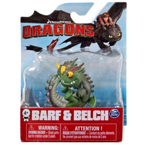 Spin Master - How to Train Your Dragon Bioluminescent Mini Dragons - Barf & Belch (20107342)