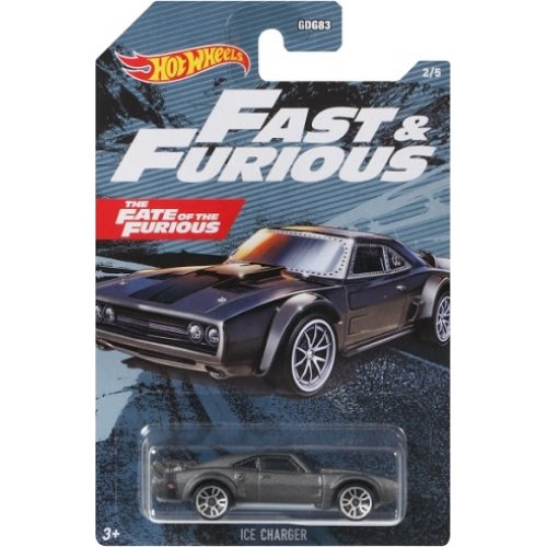 Mattel Hot Wheels Fast & Furious: The Fate of the Furious - Ice Charger Vehicle (GRP55)