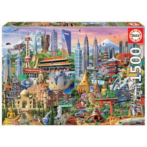 1500 Asia Landmarks