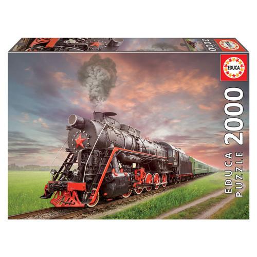 Educa 2000 Steam locomotive 18503