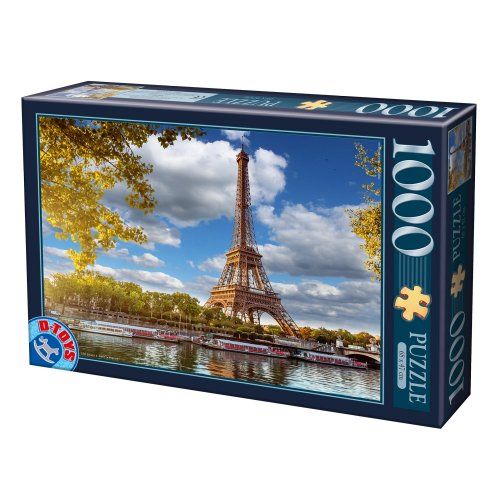 PUZZLE D-Toys 1000 ΤΜΧ 64288FP12 ΡΟΥΜΑΝΙΑΣ