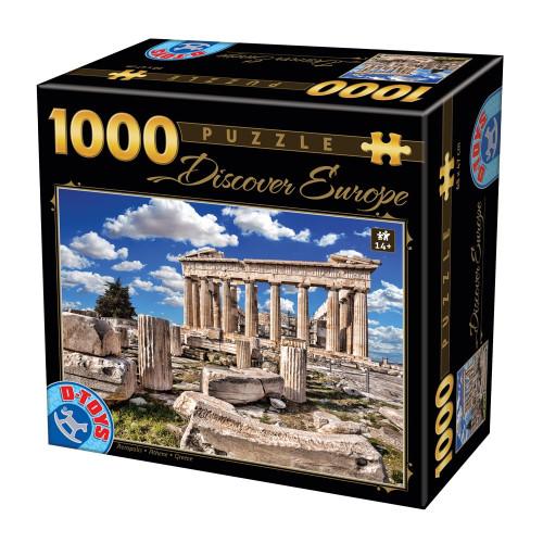 PUZZLE D-Toys 1000 ΤΜΧ 65995DE05 ΡΟΥΜΑΝΙΑΣ