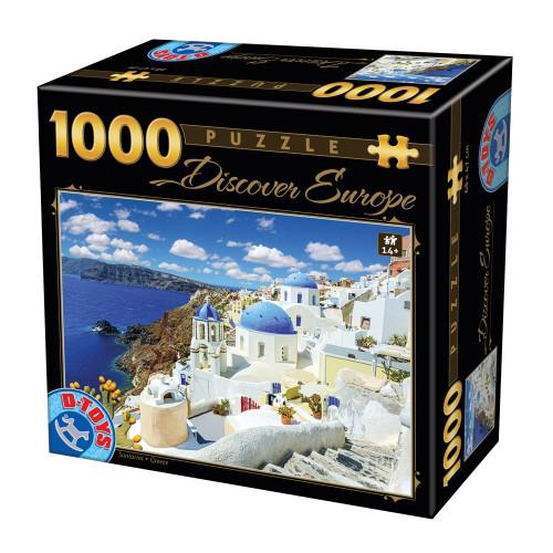 PUZZLE D-Toys 1000 ΤΜΧ 65995DE06 ΡΟΥΜΑΝΙΑΣ