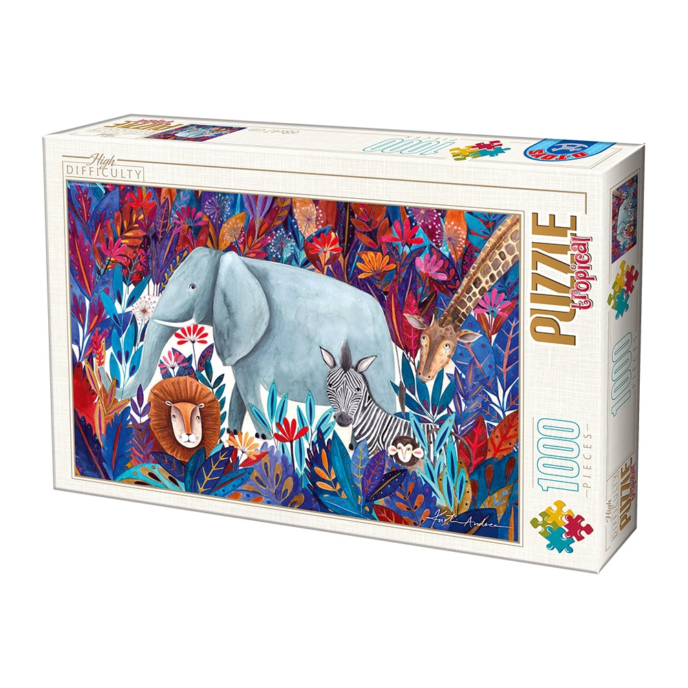 PUZZLE D-Toys 1000 ΤΜΧ 72887TR04 ΡΟΥΜΑΝΙΑΣ