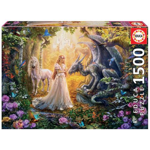 1500 Dragon, Princess and Unicorn