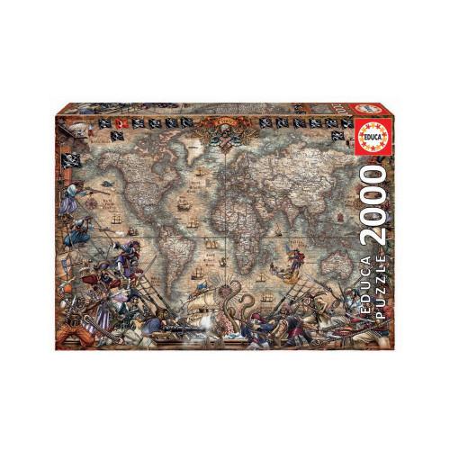 EDUCA 2000 PIRATES MAP 18008