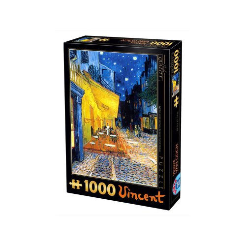 DTOYS ΠΑΖΛ 1000 VAN GOGH_Caffe Terrace at Night 66916VG09