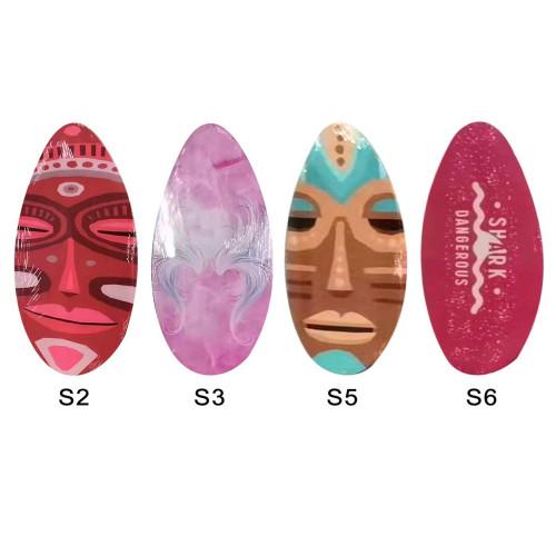 ΣΑΝΙΔΑ ΞΥΛΙΝΗ SURF SKIMBOARD 76x45cm