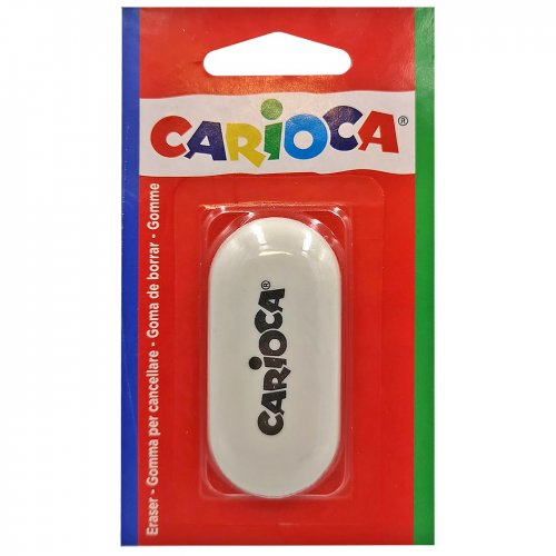 ΓΟΜΑ ΛΕΥΚΗ CARIOCA BLISTER 6x3cm Carioca 40142