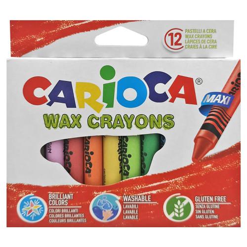ΚΗΡΟΜΠΟΓΙΕΣ ΓΙΓΑΣ CARIOCA ΣΕΤ=12ΧΡΩΜΑΤΑ  Carioca 42369