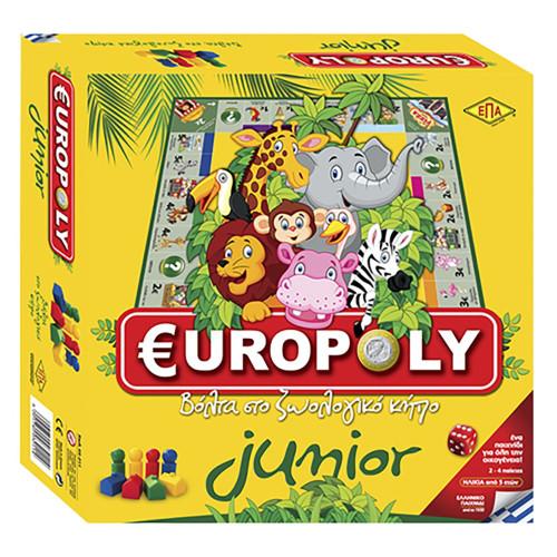 EUROPOLY JUNIOR 27x27cm
