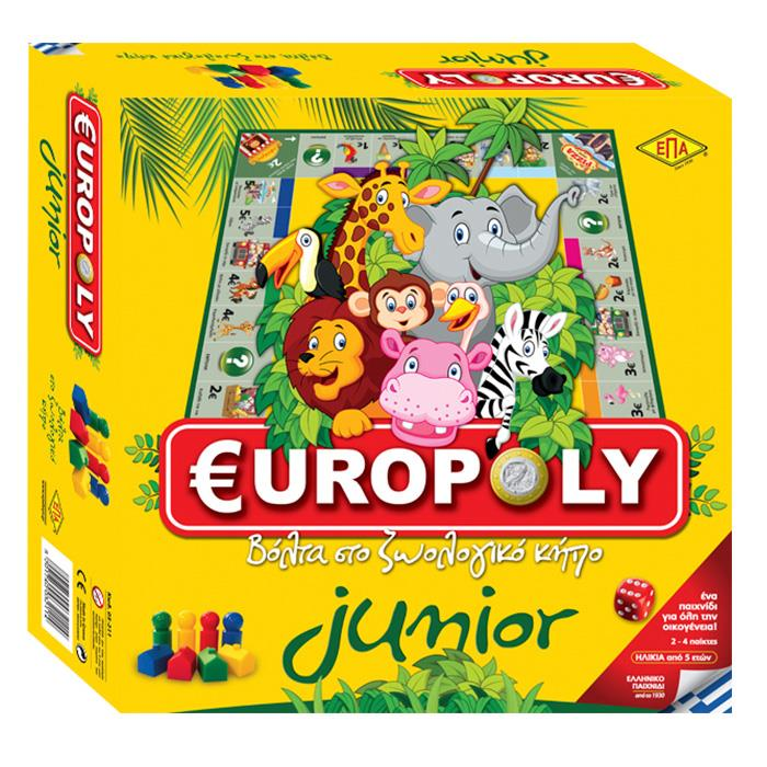 ΕΠΑ JUNIOR EUROPOLY 5201740032114