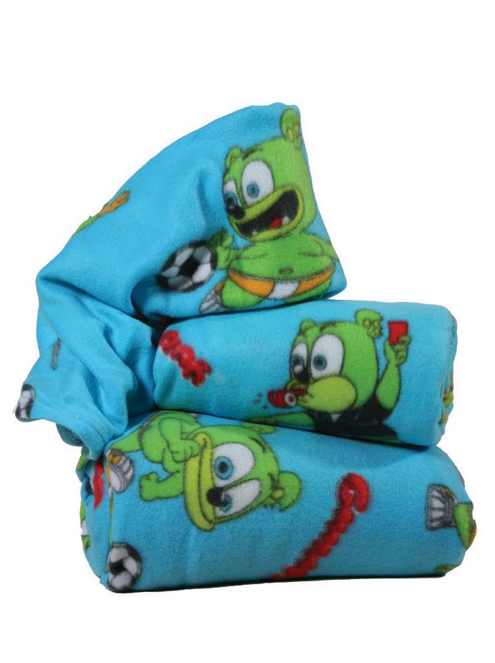 Gummy Bear Fleece κουβέρτα αγκαλιάς Gummy Bear Σιελ Γαλάζιο viops15955