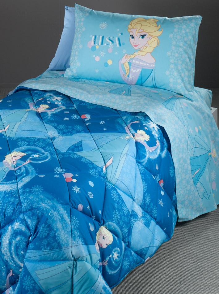Disney Κουβερλί μονό Frozen Blue pals15282