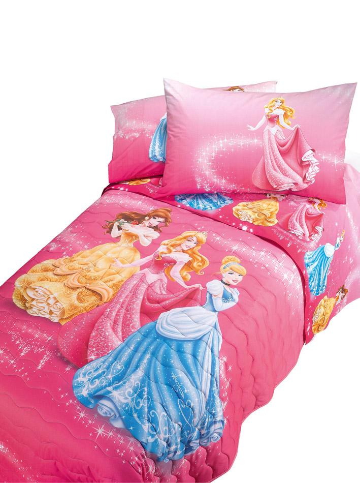 Disney Κουβερλί μονό Princess Star pals15244
