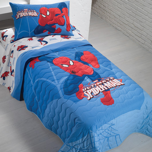 Spiderman Κουβερλί μονό Spiderman City pals1311409105