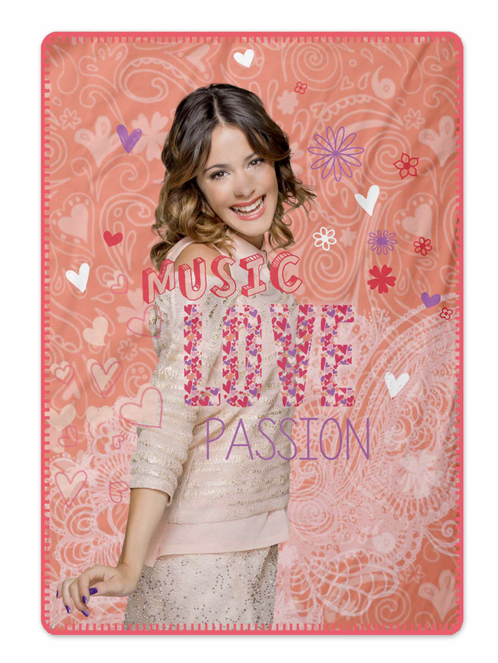 Disney Κουβέρτα fleece Violetta 120x140 5205857108663