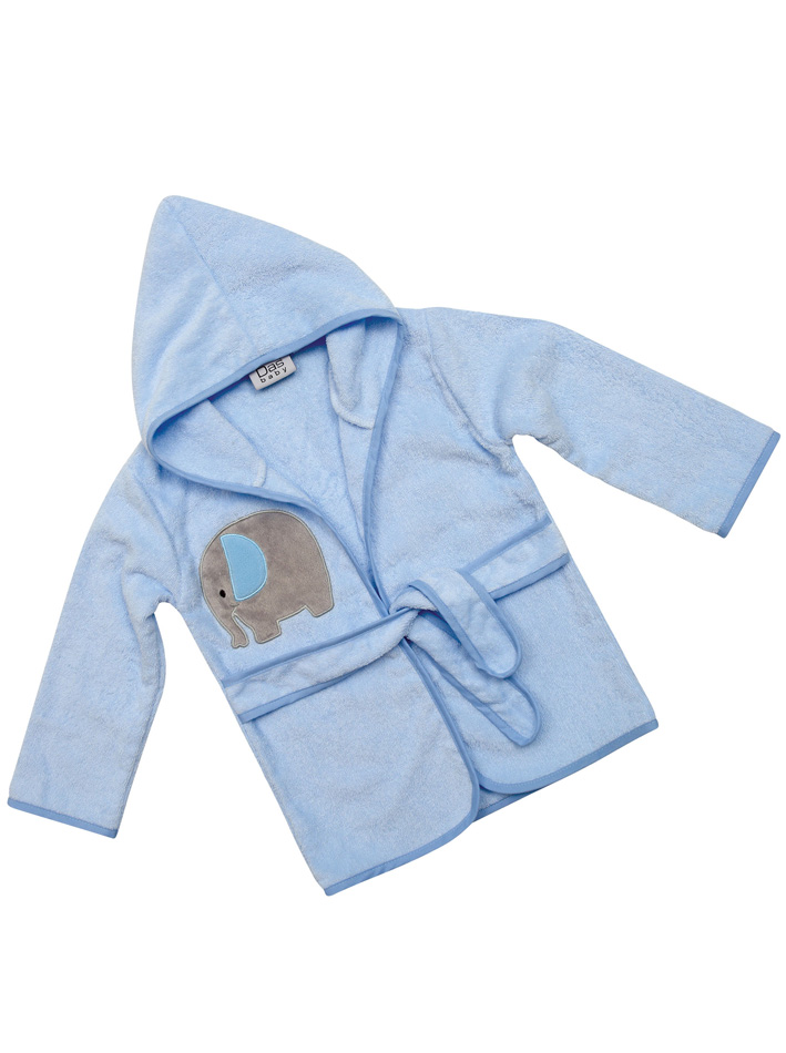Das Baby Μπουρνούζι Baby Smile Embroidery 6383 Νο2 Σιελ 62070826383