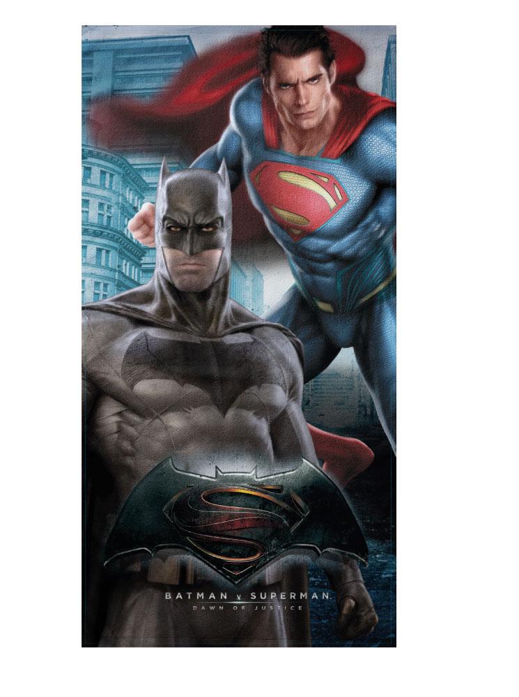 Batman Πετσέτα Θαλάσσης Batman Superman Θαλάσσης 8000842678803