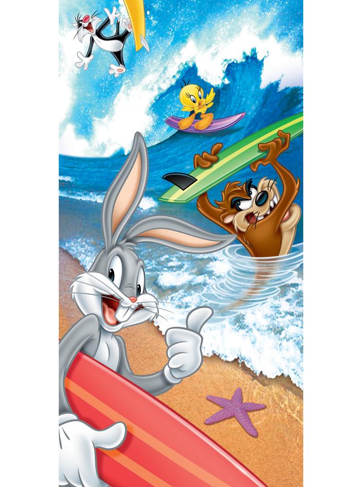 Looney Tunes Πετσέτα θαλάσσης Looney Tunes 1 Θαλάσσης vios16684