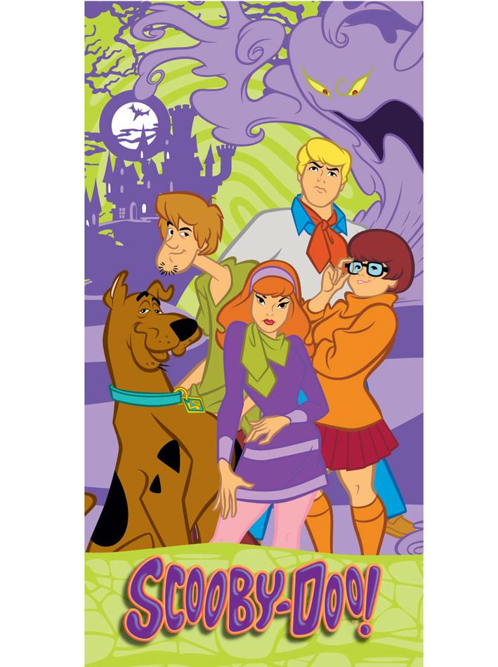 Scooby Doo Πετσέτα θαλάσσης Scooby Doo Θαλάσσης viops15816