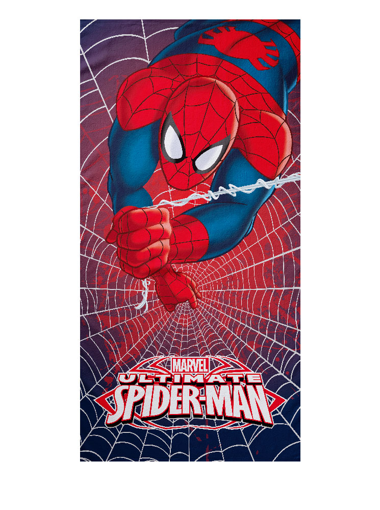 Spiderman Πετσέτα Θαλάσσης Spiderman Heroes Θαλάσσης 8000842683609