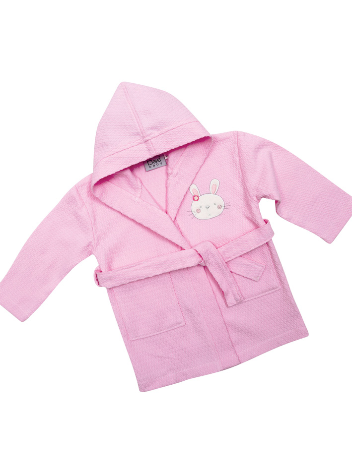 Das Baby - Πικέ μπουρνούζι Baby Smile Embroidery 6387 Νο2 - - - - 620708206387