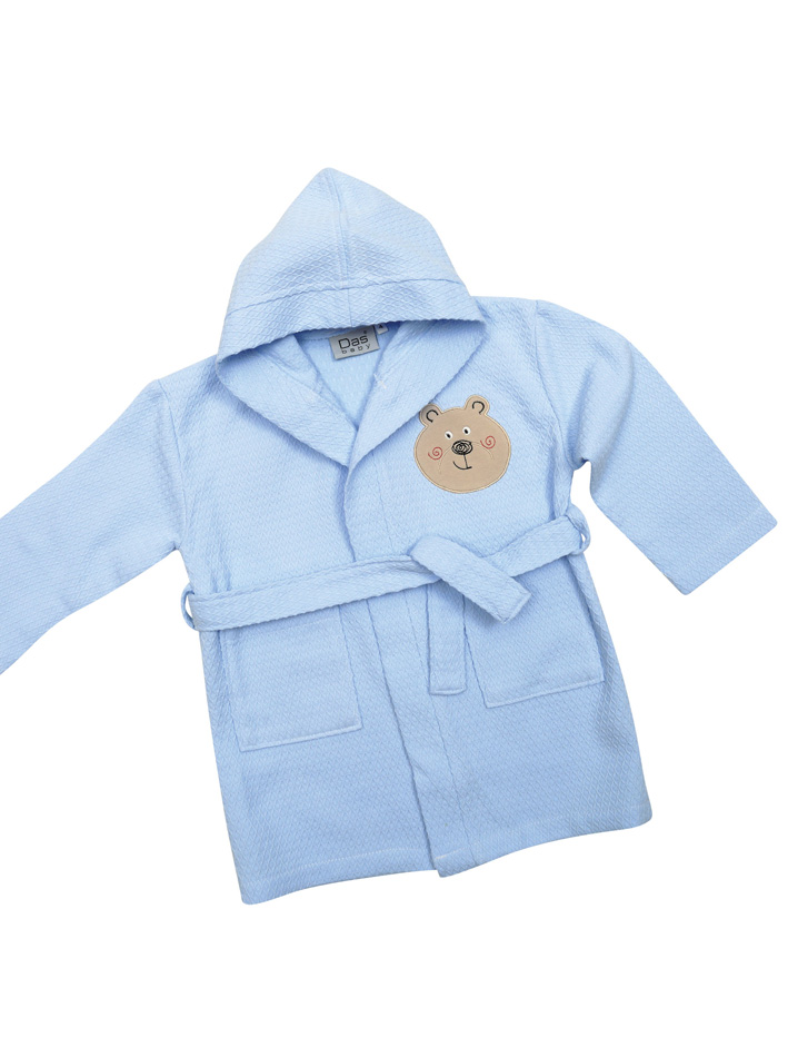 Das Baby - Πικέ μπουρνούζι Baby Smile Embroidery 6388 Νο2 - - - - 620708206388