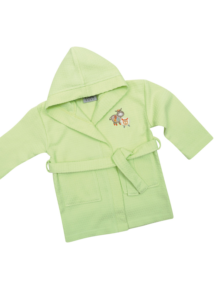 Das Baby - Πικέ μπουρνούζι Baby Smile Embroidery 6389 Νο2 - - - - 620708206389