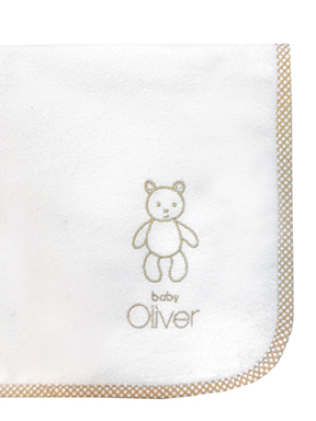 Baby Oliver Σελτεδάκι Little Things Design 610 Μπεζ 466718610