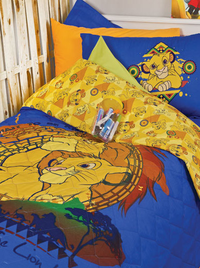 Disney Σετ κουβερλί μονό The Lion King pals1310606109